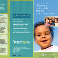 QUALITYstarsNY Families brochure