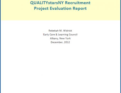 Recruitment Evaluation Report 2012